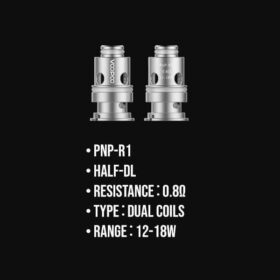 PnP-R1 Dual Coil 0.8ohm