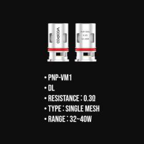 PnP-VM1 Mesh Coil 0.3ohm
