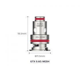 GTX Coil 0.6ohm Mesh