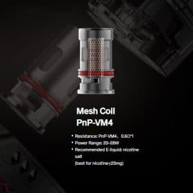 PnP-VM4 Mesh Coil 0.6ohm